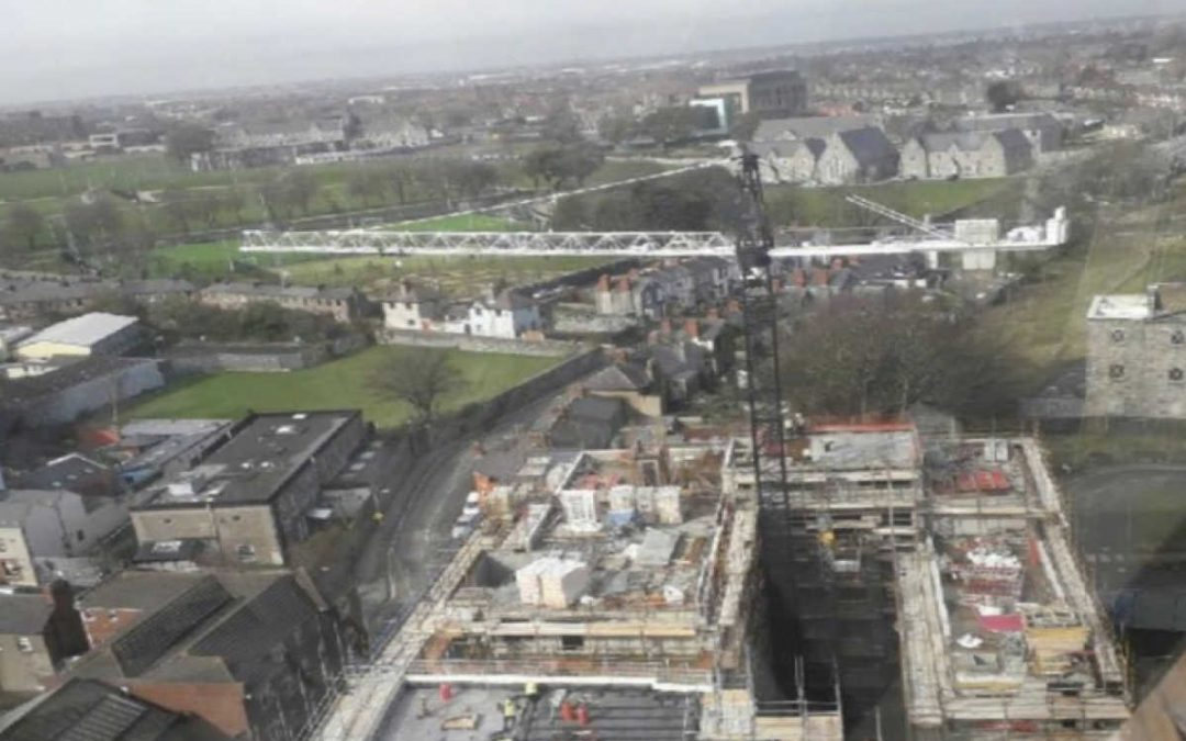 Grangegorman topping out, March 2018