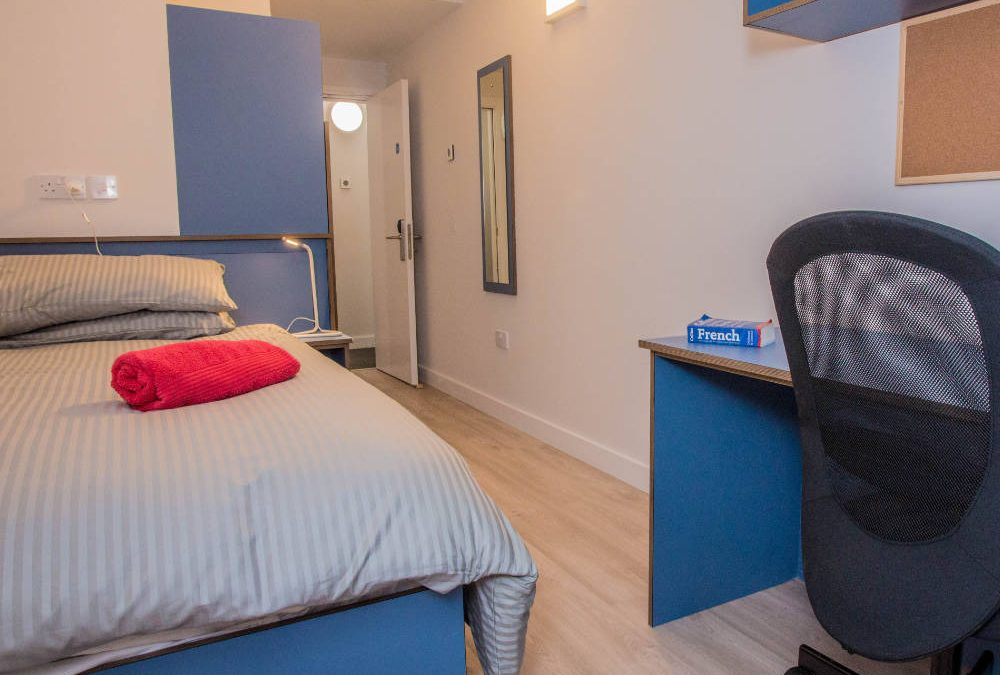 Marketing Suite complete Grangegorman Student Accommodation, March 2018