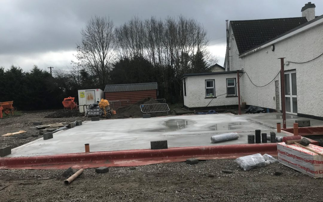 Commencement of works on Mulhussey National School, Kilcock, Co. Meath