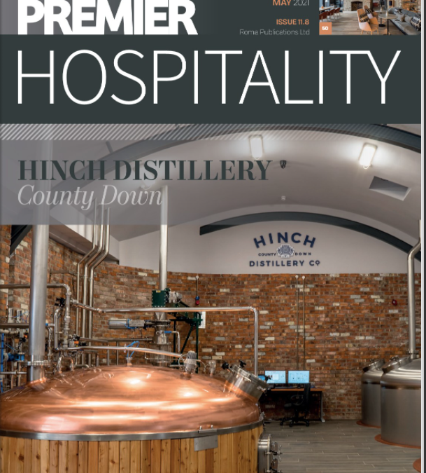 Our feature in Premier Hospitality Magazine's May issue