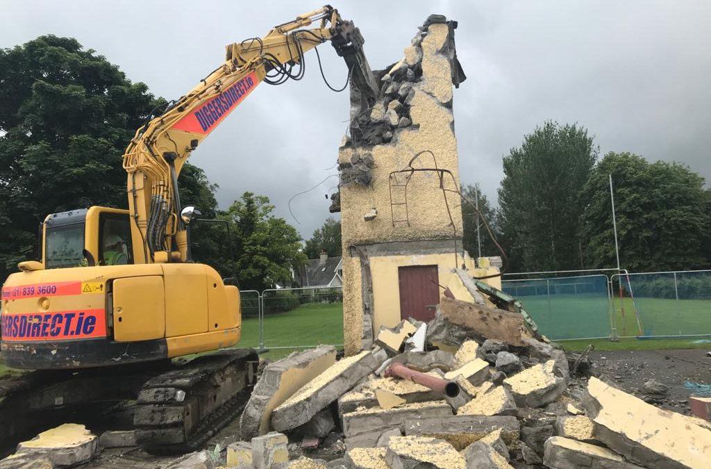 Tiermohan National School – Demolition and Pour of Subfloor